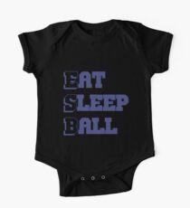 Eat Sleep Ball One Piece - Short Sleeve