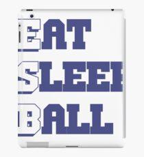 Eat Sleep Ball iPad Case/Skin