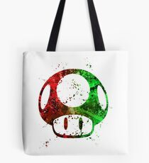 Super Mario Splatter Tote Bag