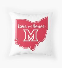 Miami - Oxford - Love and Honor Throw Pillow