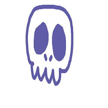 skull by faultytees