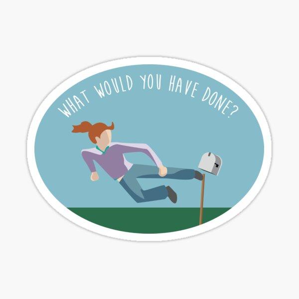 Gayle Mailbox Sticker