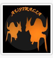 Kangaroos Sticker