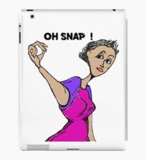 Oh Snap  !   iPad Case/Skin