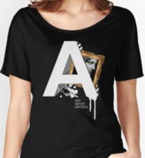 A IS FOR ART Women's Relaxed Fit T-Shirt