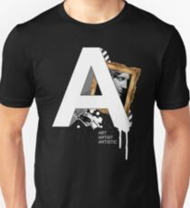 A IS FOR ART Unisex T-Shirt