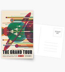 Retro Space Poster - Die große Tour Postkarten