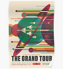 Póster Cartel Retro Space - The Grand Tour
