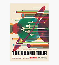 Lámina fotográfica Cartel Retro Space - The Grand Tour
