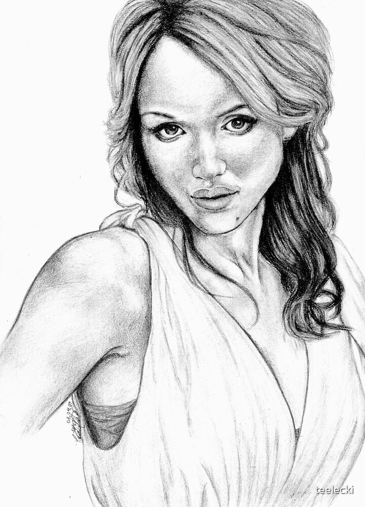 Jessica Alba by teelecki