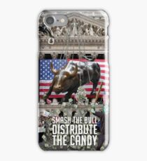 Protest Poster - Smash the Bull (2011) iPhone Case/Skin