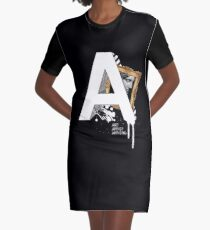 A IS FOR ART Graphic T-Shirt Dress