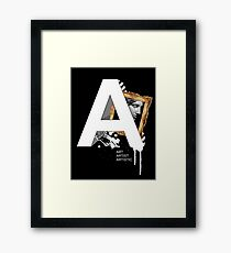 A IS FOR ART Framed Print