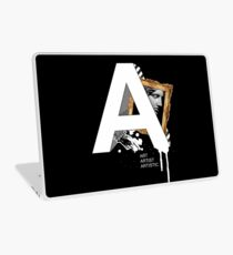 A IS FOR ART Laptop Skin