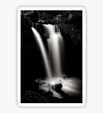 Scaling waterfall, North Yorkshire Sticker