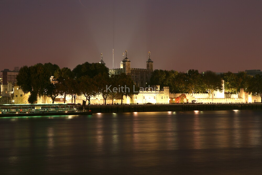 Early Evening at the Tower of London by Keith Larby