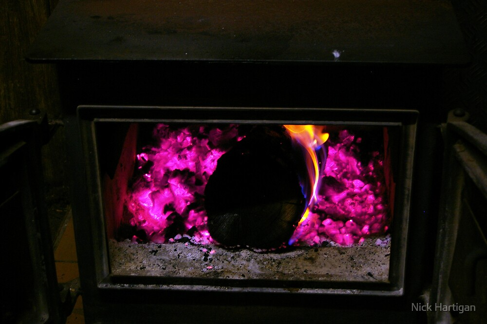 Fireplace by Nick Hartigan