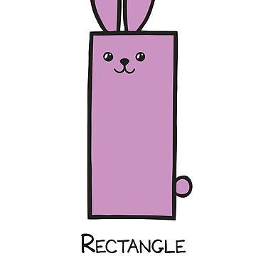 Rectangle GeoBunny by 2redheadedbros