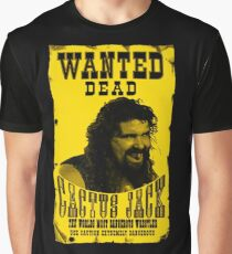 CACTUS JACK WANTED POSTER Graphic T-Shirt