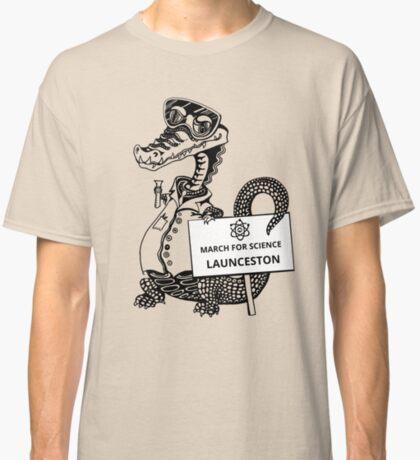 March for Science Launceston – Crocodile, black Classic T-Shirt