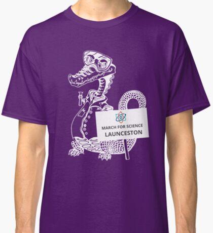 March for Science Launceston – Crocodile, white Classic T-Shirt
