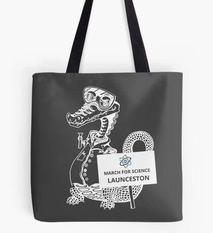 March for Science Launceston – Crocodile, white Tote Bag