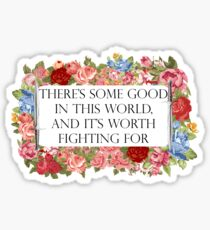 Good in this world Sticker
