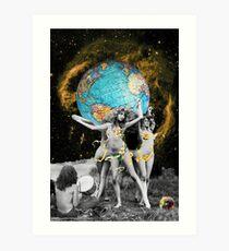 Hippie Neraides Art Print