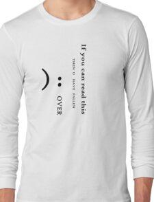 Fallen Over T-Shirt
