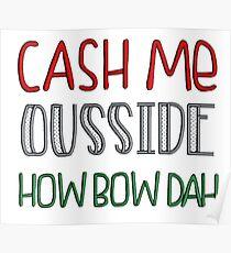 how bow dah Poster