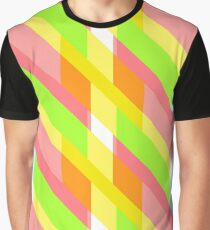 Modern and oblique pattern Graphic T-Shirt