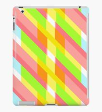 Modern and oblique pattern iPad Case/Skin