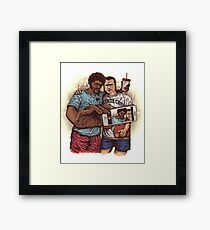 Tshirt Movie Framed Print