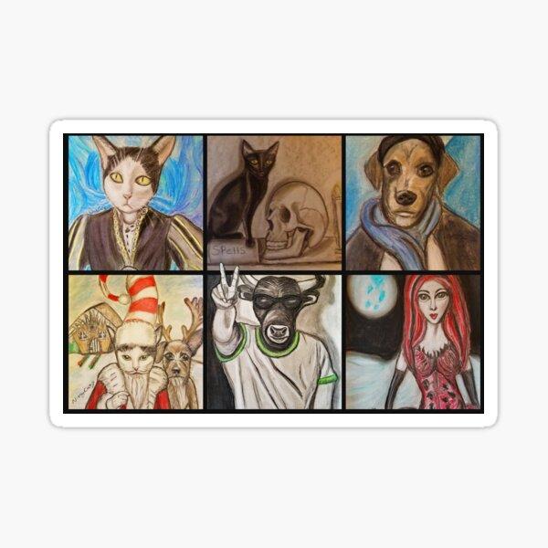 Artwork by Niecy Catz Sticker