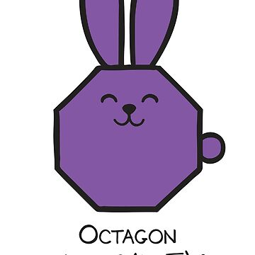 Octagon GeoBunny by 2redheadedbros