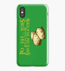Po-tay-toes iPhone Case/Skin