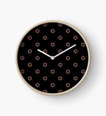 Tiny Flowers Clock