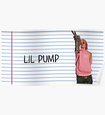 LIL PUMP POSTER Poster
