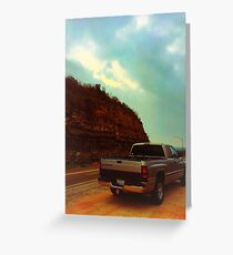 Dodge pickup truck  Greeting Card