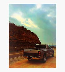 Dodge pickup truck  Photographic Print