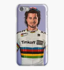 Peter Sagan Painting 1 iPhone Case/Skin