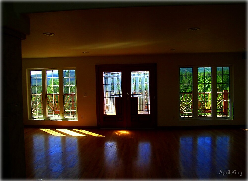 Windows, Color, Light by April King