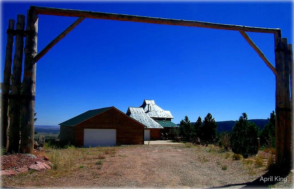 Colorado Ranch Entry by April King