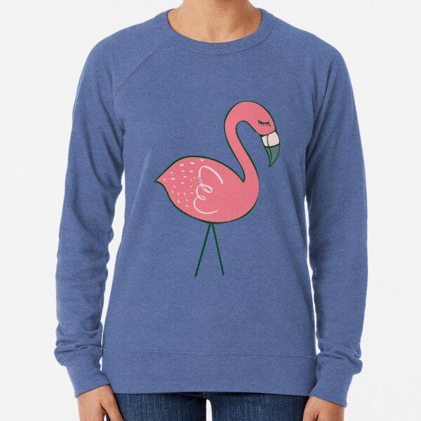 Campsite Flamingos Lightweight Sweatshirt