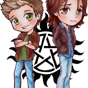 Dean and Sammy by Dacdacgirl