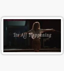 its all happening  Sticker