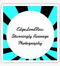 EdgeLordRoss photography Logo Sticker