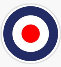 Mod Symbol Vespa Scooter UK Roundel Sticker