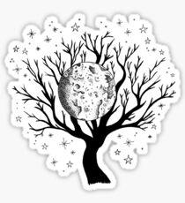 Nightscape Tree of Life Sticker