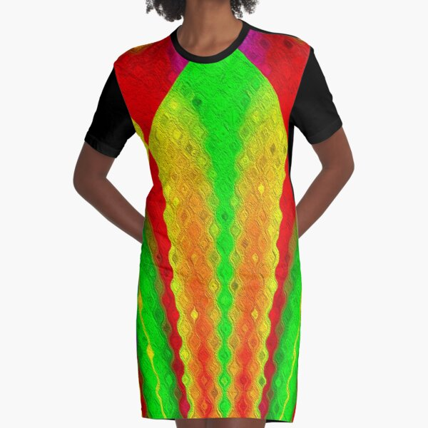 Circus of the Mondu Graphic T-Shirt Dress